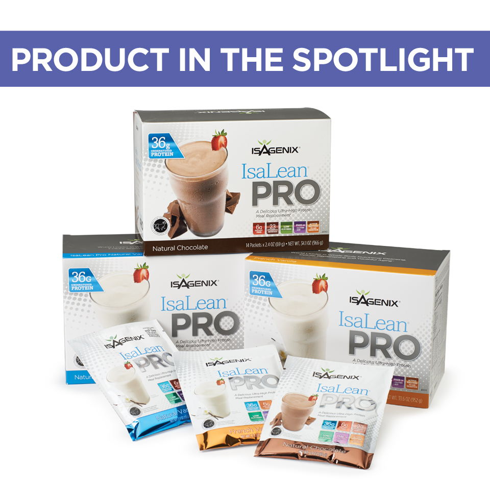 Product in the Spotlight - IsaLeanPro