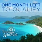 One Month Left to Qualify For Exclusive Product and Business Training
