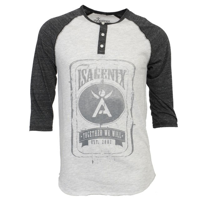 Men's 3-4 Sleeve Baseball Tee