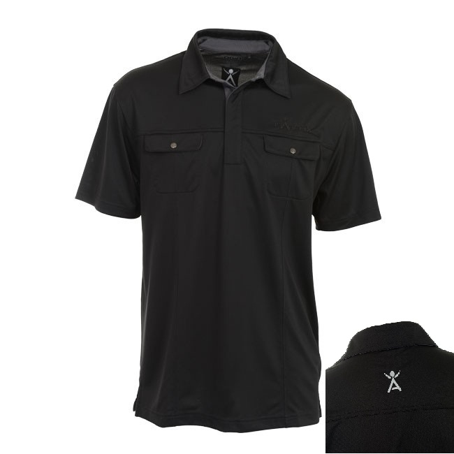Men's Black Ogio Polo