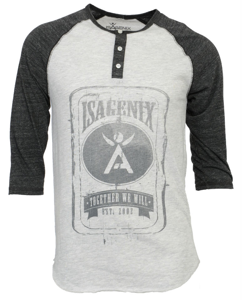 New IsaGear_Baseball Henley