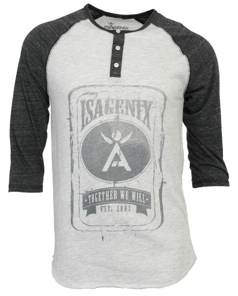 New IsaGear_Baseball Henley
