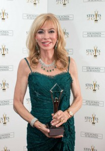Kathy Coover Wins 2013 Silver Stevie Award for Female Executive of the Year