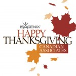 Happy Thanksgiving to Our Canadian Associates!