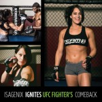 Isagenix Ignites Female UFC Fighter Jessica Eye's Comeback