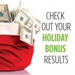 How to Check in on Your Holiday Bonus
