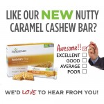 Gone Nutty for Our New Caramel Cashew Bar? Tell Us About It!