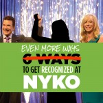 Get Recognized at New Year Kick Off