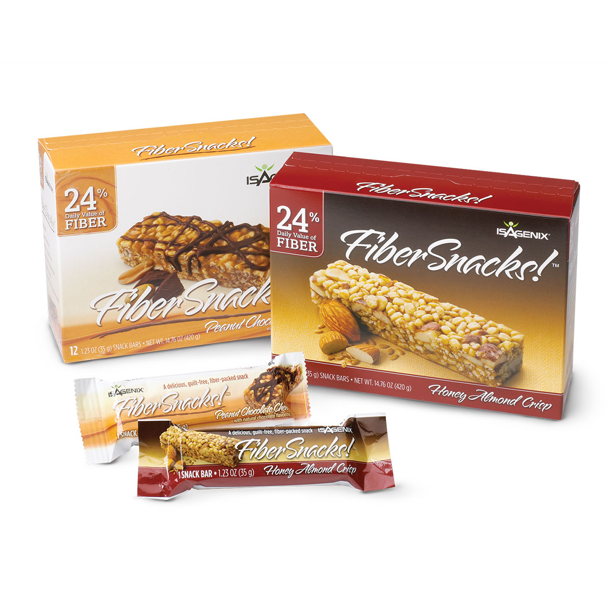 Isagenix Fiber Snacks Peanut Chocolate Chew
