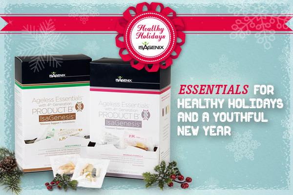 Social Media_Seasonal Product Campaign_Ageless Essentials with Product B IsaGenesis_Winter Theme_600x400px