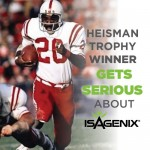 Heisman Trophy Winner Gets Serious about Isagenix