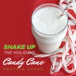 Nothing Says 'Happy Holidays' Like the Candy Cane Protein Shake