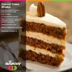 Carrot Cake Shake Recipe is a Hit!