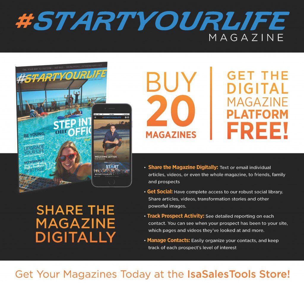 #STARTyourLife Magazine Deal