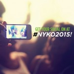 Stay Connected at #NYKO2015 with Social Media