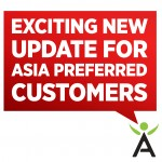 Exciting Update for Asia Pacific