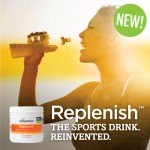 Replenish™: A Better Take on Sports Drinks