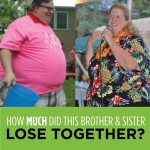 Brother and Sister Duo Inspire Each Other to Lose Over 100 Pounds