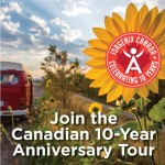 Celebrate 10 Years in Canada With Our 10-City Tour