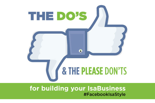 Do's and Don'ts of Facebook | IsaFYI.com