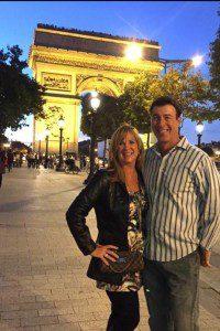 Susan M and husband in paris