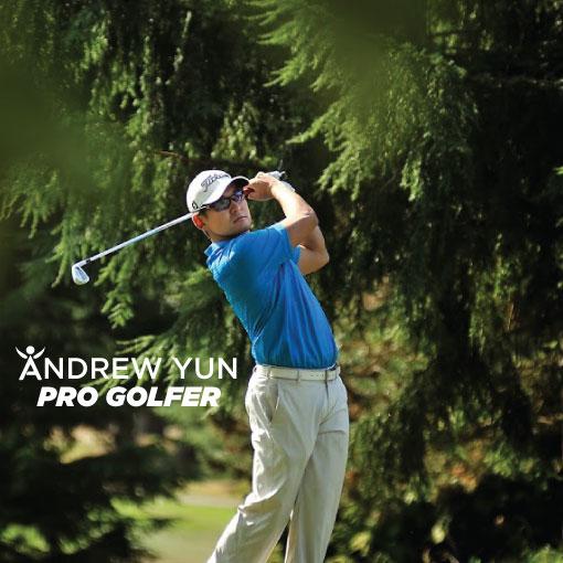 Pro Golfer Andrew Yun