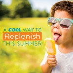 Replenish Popsicle Recipe: For the Kiddos!
