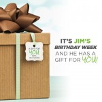 Jim Coover is Celebrating His Birthday with a Gift for You