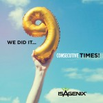Isagenix Makes Inc. 5000 List for the Ninth Year in a Row