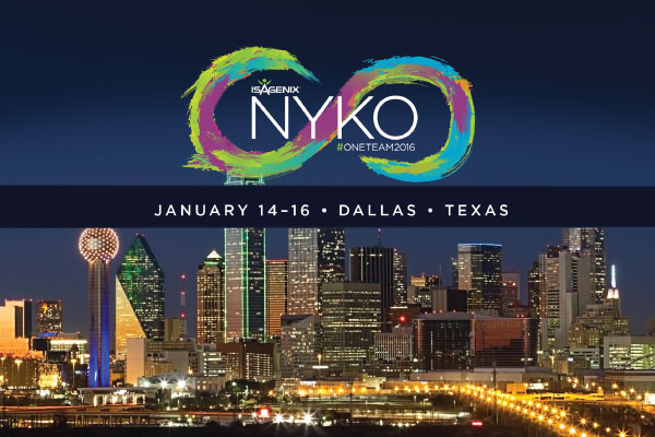 Well See You In Dallas For Nyko Isagenix News Isafyicom