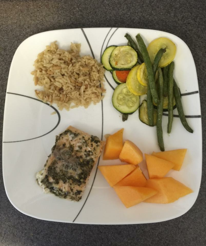 Salmon Foil Packet---Nicole Stroup