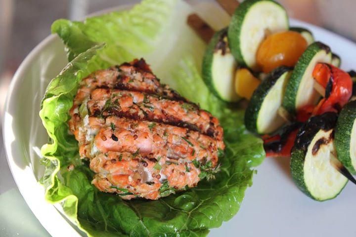 Veggie Burgers--Jill Knight