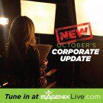 Mark Your Calendars: Isagenix Corporate Update October 20