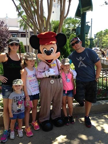 Disneyland Family Picture