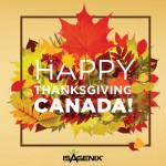Happy Thanksgiving, Canada!
