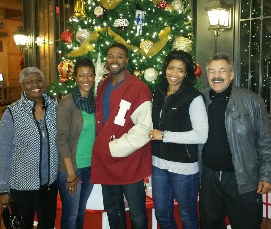 Justin Smith family