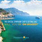 The Crystal Symphony Ship Is Setting Sail! Will YOU Be On Board?