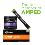 AMPED Hydrate Will Start to Replace Replenish in May