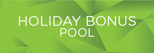 Holiday Bonus Pool Recognition