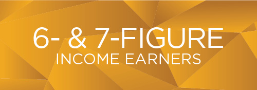 6- & 7-Figure Income Earners Recognition