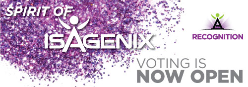 2017 Spirit of Isagenix nominations are now  open!