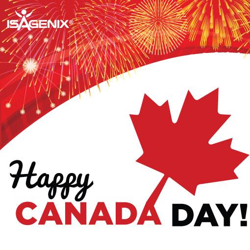 happy canada day  - isagenix news