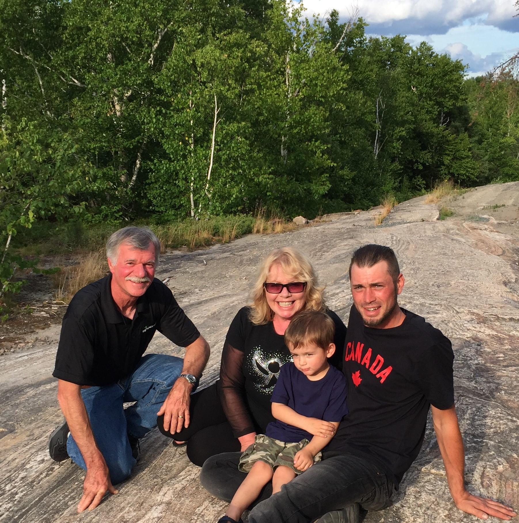 Deb, Dave, Jake and Mickey July 7 2016