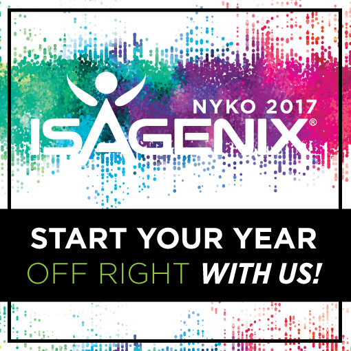 2017 Nyko Is Sold Out Isagenix News Isafyicom