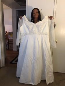 Kenya wedding dress