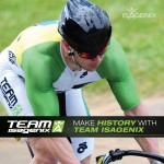 Team Isagenix Cyclist Makes History