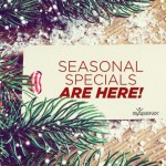 Final Days for Seasonal Specials!