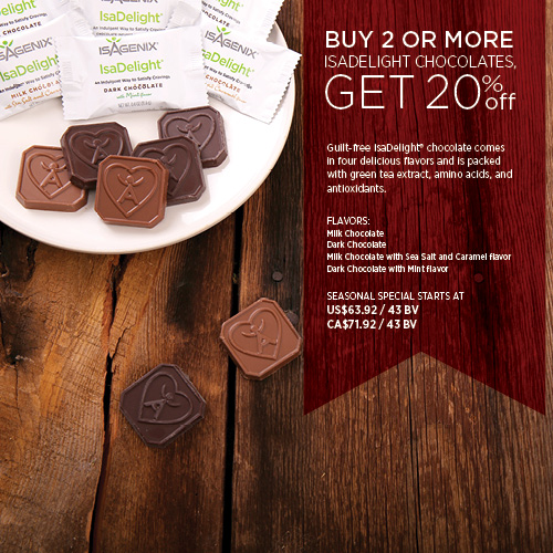 28dfa08afc6 Final Days for Seasonal Specials! - Isagenix News - IsaFYI.com