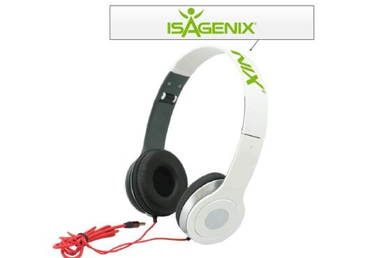Tier 2: Isagenix Headphones