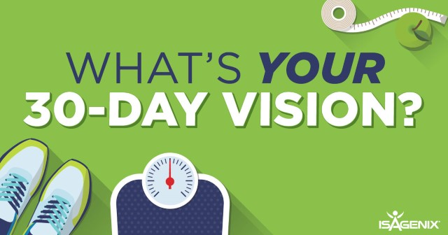 What's Your 30-Day Vision?